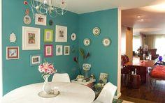 Maison du Chocolat: Apto Karina Bacchi Cozinha e sala de jantar por Neza Cesar