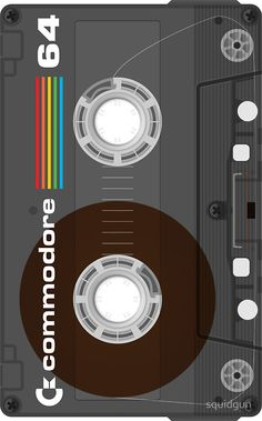 Commodore 64 Cassette Tape by squidgun Phone Screen Wallpaper, Mobile Wallpaper, Wallpaper Backgrounds, Iphone Wallpaper, Wallpapers En Hd, Pattern Wallpaper, Wall Collage, Wall Stickers, Decals