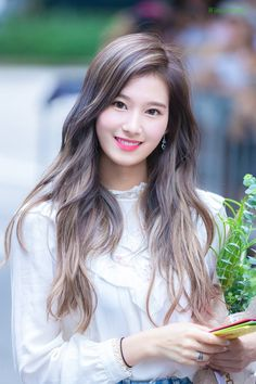twice sana beautiful smile pictures Kpop Girl Groups, Korean Girl Groups, Kpop Girls, Nayeon, Sana Kpop, Asian Woman, Asian Girl, Sana Cute, Loona Kim Lip