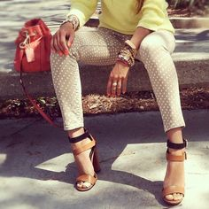 ♥ strappy shoes