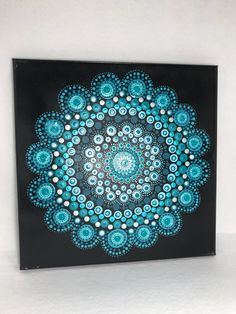 A personal favorite from my Etsy shop https://www.etsy.com/listing/573470329/mandala-original-painting-on-canvas