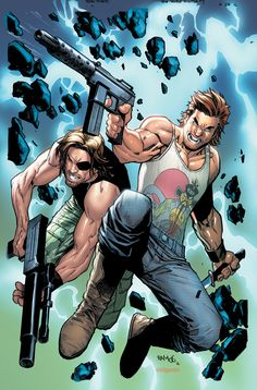 Big Trouble in Little China/Escape from New York #2 (2016) Subscription Variant…