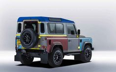 Design Legend Paul Smith Made This Custom Land Rover Defender - Airows