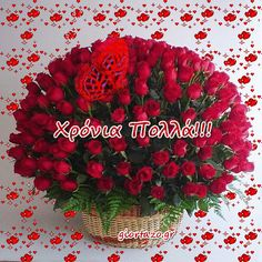 Happy Name Day, Facebook Humor, Beautiful Roses, Raspberry, Christmas Wreaths, Happy Birthday, Holiday Decor, Pictures, Home Decor