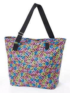 The Avery Large Tote- Great for the beach! $20.00
