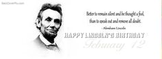 Happy Birthday President Lincoln