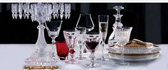 Crystal Stemware - Tall, Small & Wine Glasses - Crystal Glassware