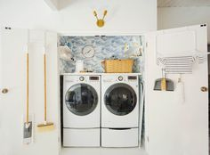 Just because it's a laundry room doesn't mean it can't be fun