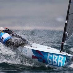 GOLD Medal for Ben Ainslie as he makes Olympic history by winning his fourth sailing Gold Medal. Second medal of the day (5/Aug/2012) for TeamGB in the sailing.