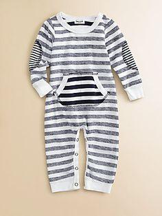 Splendid Infant's Striped Playsuit