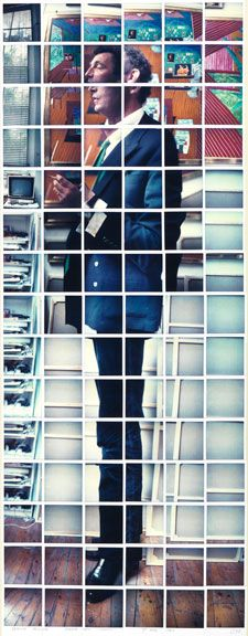 DAVID HOCKNEY : PHOTOS. Polaroid composite