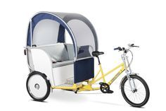 Maxpro EcoPromo - Pedicab Rickshaw Designed for Advertising Tricycle Bike, Adult Tricycle, Bike With Sidecar, Velo Cargo, Electric Tricycle, Miniature Schnauzer Puppies, Red Wagon, Karting, Cool Bicycles