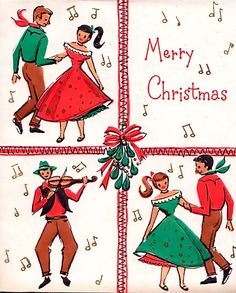 Christmas Square Dance.