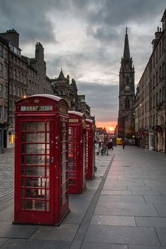 Royal Mile Sunrise, Edinburgh, Scotland by Tom_Drysdale England Ireland, England And Scotland, London England, Galway Ireland, Cork Ireland, Scotland Vacation, Scotland Travel, Ireland Vacation, Ireland Travel