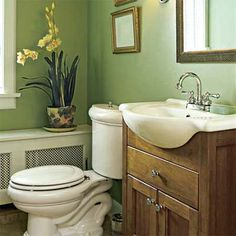 Space-saving sink. | Photo: Andrew Bordwin | thisoldhouse.com