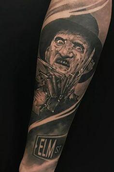 0775972ec Freddy Krueger - A Nightmare On Elm Street Tattoo By Benjamin Laukis ...