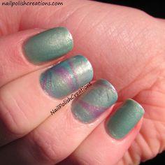 Nail Polish Creations: Zoya Awaken Shimmer Marble