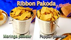 Ribbon pakoda/ Moringa powder ribbon pakoda and Ajwain pepper powder ribbon pakoda | 7aum Suvai