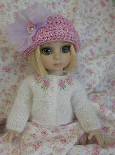 """""""Blooming in Pink Cardigan"""" for Patsy 10"""" Ann Estelle Sophie CR Tonner 