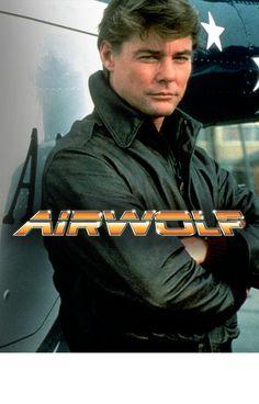 Airwolf TV Show Cast GRAPHIC Licensed Adult Sweatshirt Hoodie