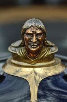 1928 Pontiac Hood Ornament - Jill Reger - Photographic prints for sale