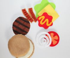 Image result for felt hamburgers