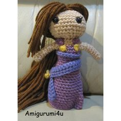 Meg Megara Disney Hercules Handmade Amigurumi Crochet Doll by Amigurumi4u, via Flickr