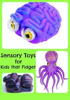 Fantastic list of unique and affordable sensory toys for kids that fidget - both at home, therapy, and in the classroom at school. Great with your child has autism, ADD/ADHD or simply just has extra energy!