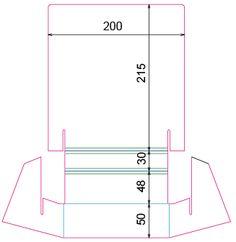 Présentoir carton pour flyers A5 - Plv eXpress