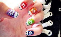 17 Colorful And Easy Nail Art Designs For Summers - Page 3 of 3 - StyleBees | StyleBees