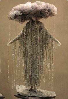 Idea for Halloween: photo of rain cloud costume - Yahoo! Clever Halloween Costumes, Cool Costumes, Halloween Diy, Halloween Decorations, Costume Ideas, Ghost Costumes, Vintage Halloween, Tulle Costumes, Poison Ivy Costumes