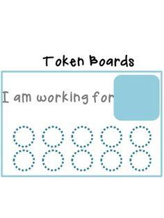 Token Board- Behavior Management Tool