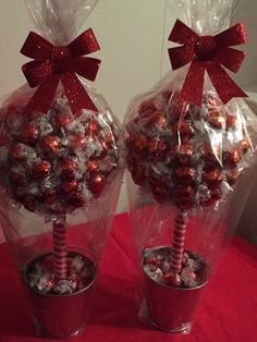 Sweet trees for all occasions 50th Birthday Centerpieces, Candy Centerpieces, Chocolate Tree, Chocolate Bouquet, Bouquet Box, Candy Bouquet, Dyi Decorations, Decoration Table, Homemade Christmas Gifts