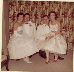 One Hour Photo, Remember Day, Vintage Prom, Vintage Colors, Vintage Images, Fashion Photo, Ephemera, Celebrations, 1950s