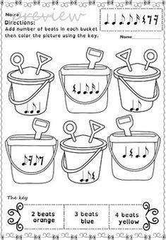 Summer rhythm activities
