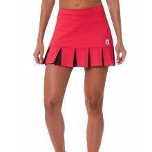 FALDA FELIZ ROJA Tennis Skirts, Sports Skirts, Tennis Dress, Tennis Clothes, Golf Attire, Golf Outfit, Sports Uniforms, Tennis Fashion, Perfect Golf