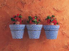 Mediterranean Pots Poster by Anne Geddes at AllPosters.