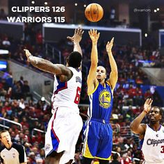 Stephen Curry tried to shoot the Warriors back into the game but a 19-point second-half deficit proved too much to overcome in tonight's 126-115 road loss to the Clippers. Curry knocked down four of his nine treys in the fourth quarter, but it wasn't enough on a night that saw the Warriors issue 24 turnovers. Game Recap at warriors.com/gameday