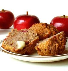 Must-Try Apple and Flax Seed Muffins Print 12 servings Servings...