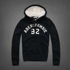 Abercrombie & Fitch Hollister Mens Stony Creek Hoodie Pullover Sz S Muscle NWT $45.00