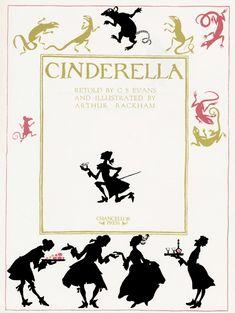 Arthur Rackham - Cinderella, 1919 Title page (2 of 41)