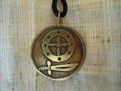 Pingente Obá - Pingente Orixás - Medalha Obá Orixá - R$ 28,00
