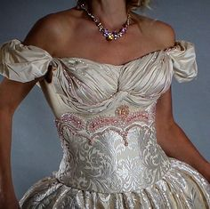 "Victorian Wedding Dress in my Shop ""The Only One In The World"""