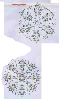 m Crochet Snowflake Pattern, Crochet Snowflakes, Crochet Motif, Crochet Christmas, Doilies, Diy, Stars, Handmade, Towels