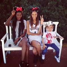 Disneyland lovin' with Jourdan Dunn //