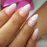 """880 Likes, 9 Comments - Katarzyna (@paznokcie_hybrydowe_katarzyny) on Instagram: """"Specjalność zakładu  przedłużenie akrylem oraz baby boomer z koronką  #nail #nails #hybryda…"""""""