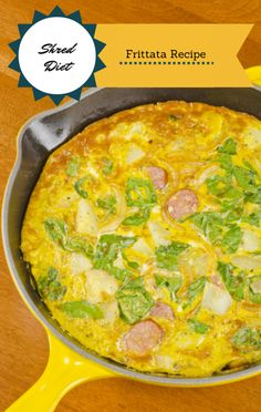 The man behind the Shred Diet, Dr. Ian Smith, came to The Talk to share his breakfast idea for a Turkey Sausage Frittata. What a great way to start the day! http://www.foodus.com/talk-dr-ian-smiths-turkey-sausage-frittata-recipe/