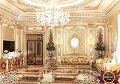 Living room in a classic style of Katrina Antonovich, Katrina Antonovich