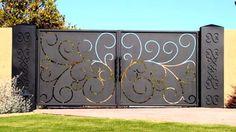 40 Creative GATE Ideas 2017 - Amazing Gate Home Design Part.1