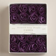 Cassis Soap Petals, 20-Piece from Cost Plus World Market on Catalog Spree